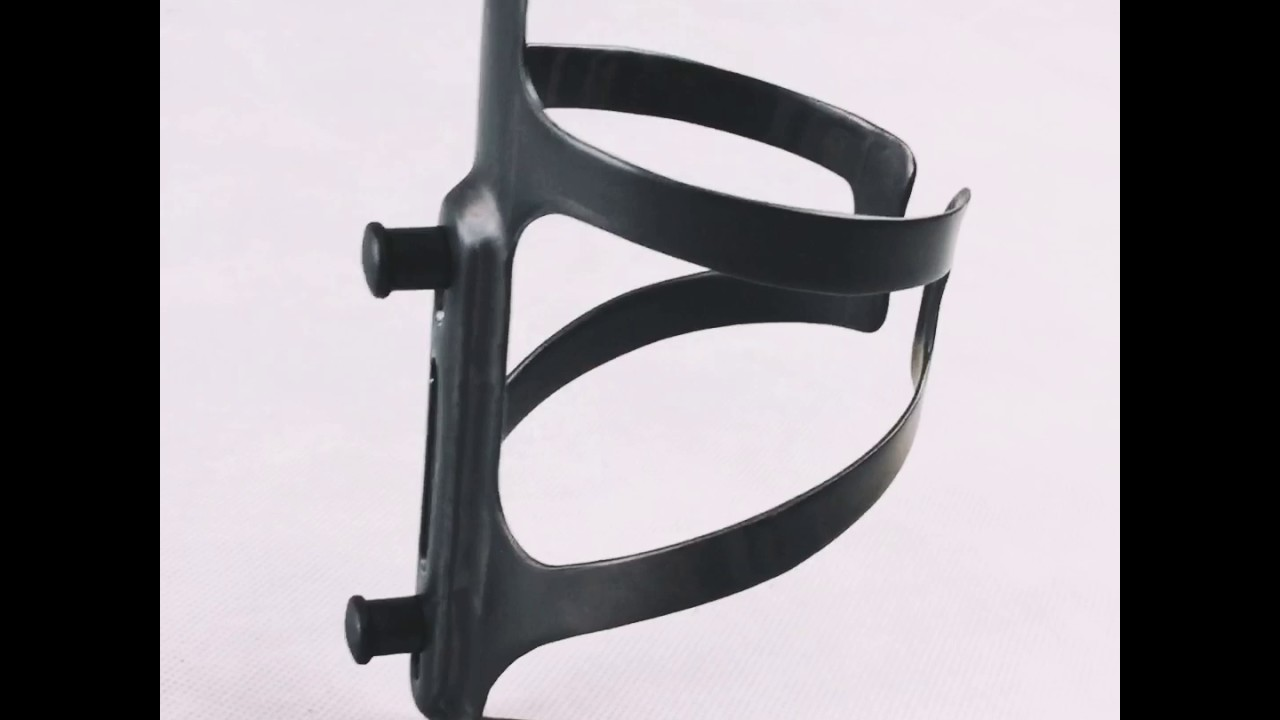 Full Carbon Fiber Water Bottle Cage MBC010 3K Glossy 2 Piece
