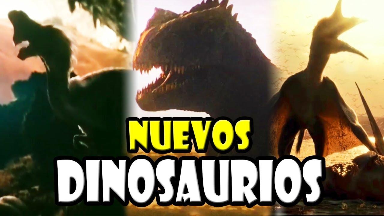 TODOS LOS NUEVOS DINOSAURIOS DE JURASSIC WORLD: DOMINION
