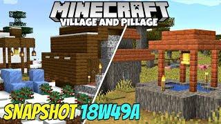 Minecraft 1.14 Snapshot 18w49a Berries, New Snowy Village, And Updated Pillager Raids!