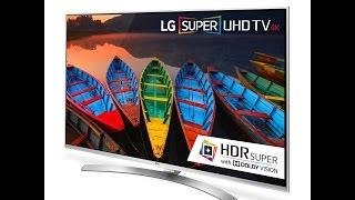 LG Electronics 60UH8500 60-Inch 4K Ultra HD Smart LED TV