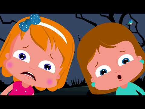 notte di Halloween Canzoni spaventosi Video bambini  Halloween Night Nursery Rhymes Music For Kids