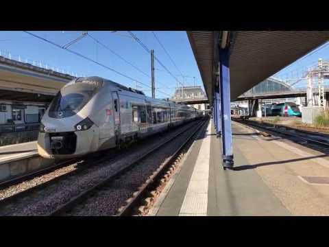 Rail Live. Trains En Gare De Bordeaux.