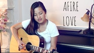 "Ed Sheeran ""Afire Love"" (Live Acoustic Cover) by Marina Lin + CHORDS"