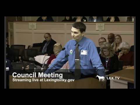 Chris Bresseman Testifies In Lexington About Medical Cannabis