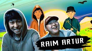 РЕАКЦИЯ!!! RaiM & Artur смотрят свой клип \