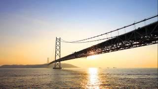 久しぶりのアップです(^^)♪ 明石大橋で作ってみました.