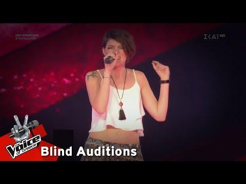 Κωνσταντίνα Μορτογλου – Ο Πρίγκιπας Αλήτης | 4o Blind Audition | The Voice of Greece