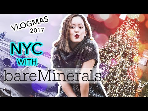 NYC with bareMinerals VLOGMAS 2017 | VLOG #10