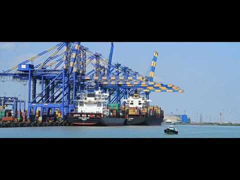 India is building two transshipment ports in its southern tip,rivalling Chinese facilities in region