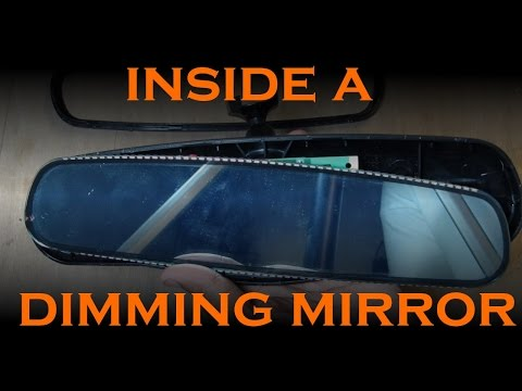 How an Auto Dimming Rear View Mirror Works