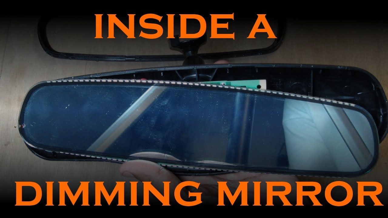 How An Auto Dimming Rear View Mirror Works Youtube