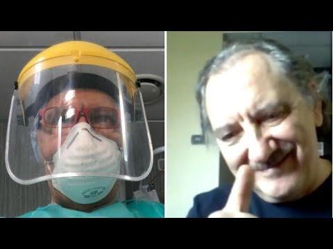 In «trincea» a Bergamo: «Primo giorno da pensionato? Da infermiere con i Covid-19. Per mia...