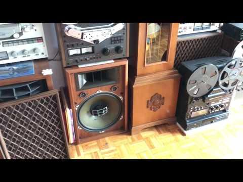 Ampli Den pioneer SM83 dau coi Otari MX 5050 Loa pioneer  Cs 901A