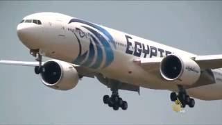 تواصل البحث عن الصندوقين الأسودين للطائرة المصرية