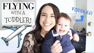 10 Tips For Flying With A Toddler! My Traveling Hacks & Tips! grace for the day