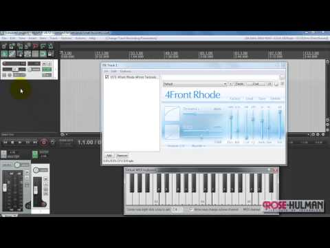 REAPER tutorial: Play VSTi instrument live from keyboard