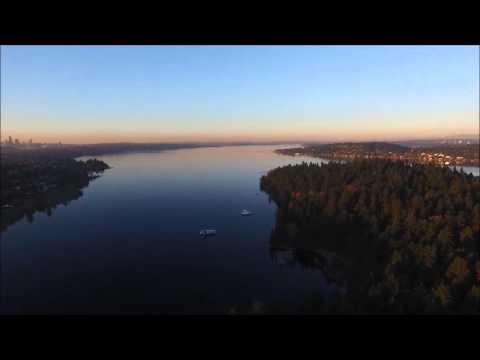 Seward Park in Seattle | Drone Footage