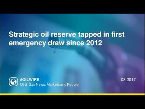 Strategic oil reserve tapped in first emergency draw since 2012