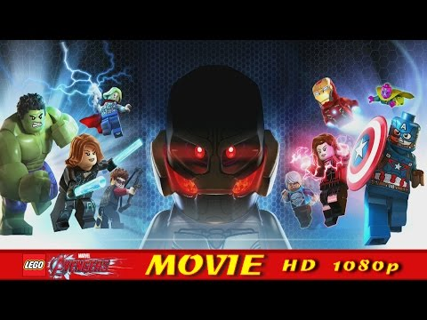 Lego Marvel's Avengers Assemble All Cutscenes - Lego Marvel's Avengers Age Of Ultron Movie