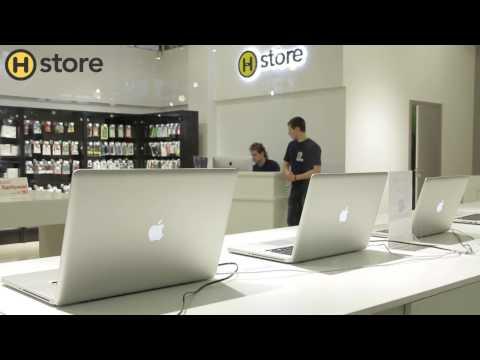 Магазин по продаже техники Apple - H-Store наглядно!