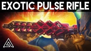 Destiny Rise of Iron | New Exotic Pulse Rifle