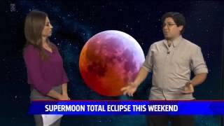 Super Harvest Blood Moon Interview - San Diego 5 News - StarDude Astronomy