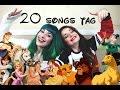 20 songs tag/ DISNEY y más!