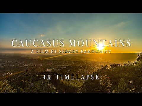 Caucasus Mountains - 4K Timelapse