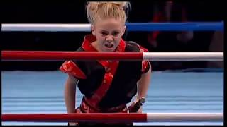 "Jesse Jane McParland ""JJ Golden Dragon"" at WAKO World Championship Belgrade 2015"