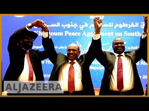 🇸🇸 South Sudan's rival leaders sign power-sharing agreement | Al Jazeera English
