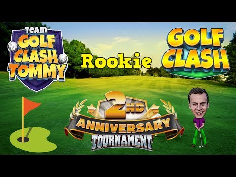 Golf Clash tips, Playthrough, Hole 1-9 - ROOKIE - 2nd Anniversary Tournament!