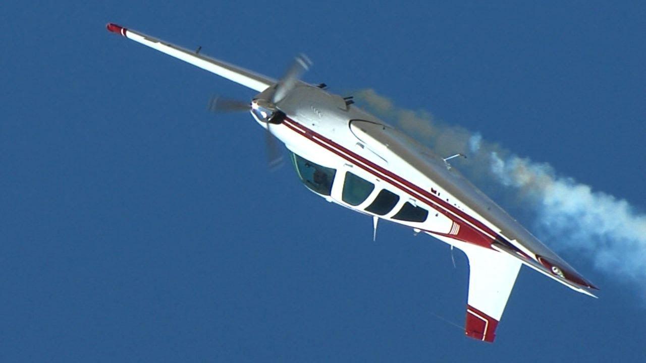 Beechcraft Bonanza Aerobatics at the Reno Air Races