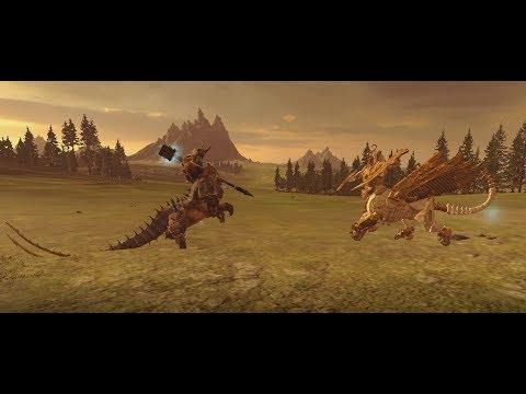 Total War Warhammer2 Kholek Vs Necrosphinx (Upgrade)