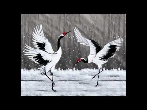 Dancing Cranes- by Luc...