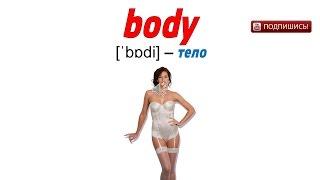 Учить английский язык видео уроки бесплатно   выбери слово «body»   EnTube
