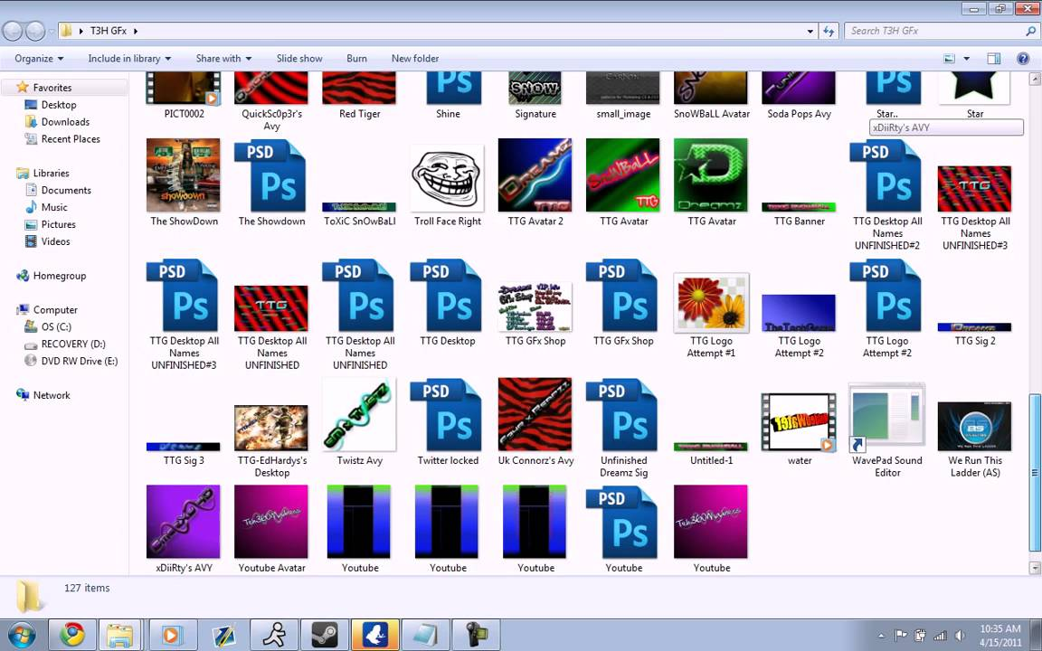 FREE Photoshop GB Templates!!! (+100) [NEW ADDED 2012] - YouTube