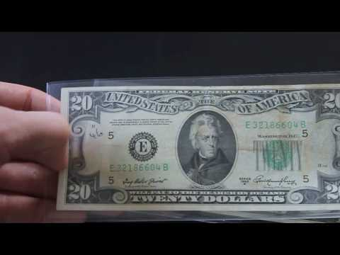 Rare Small Portrait Dollar Notes in Circulation