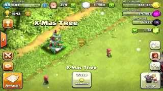 ✅Clash Of Clans: Removing X-mas Tree (2019)