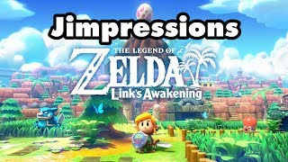 The Legend Of Zelda: Link's Awakening - Old School To A Fault (Jimpressions) (Video Game Video Review)