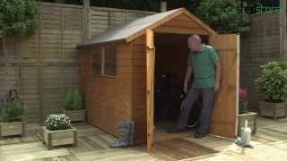 Shed-plus Overlap Dip Treated Apex Sheds