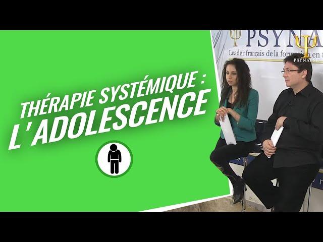 Formation Thérapie Systémique Psynapse : L'Adolescence et les patients désignés.