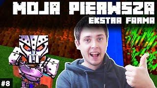 Minecraft Po Polsku Survival na Modach | MOJA PIERWSZA EKSTRA FARMA MINECRAFT