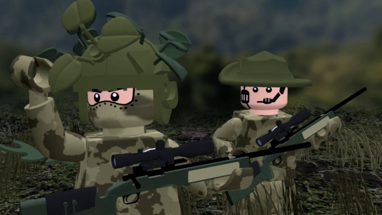 LEGO MODERN WARFARE - All Ghillied Up #1