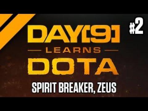 Day[9] Relaxes with Dota - Spirit Breaker, Ogre Magi, Zeus Support P2