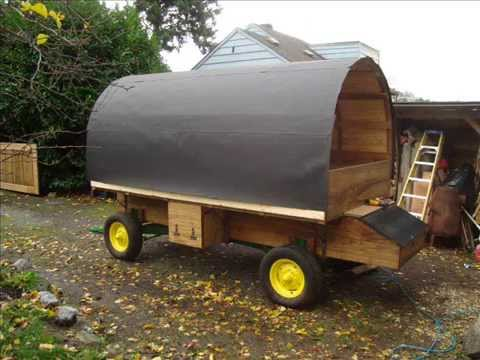 How To Build And Buy A Sheepwagon, Sheep Camp Wagon By Jim Howard