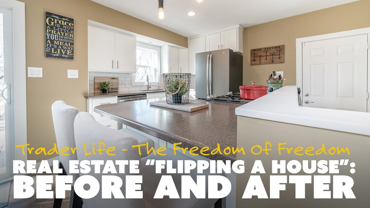 Real estate flipping a house before and after youtube for House flips before and after