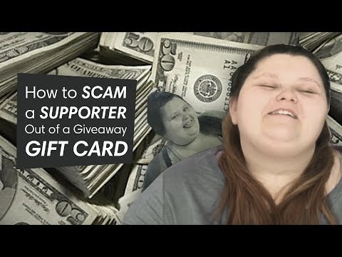 HOW TO: Scam a Supporter!  amberlynn reid saga