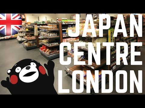JAPAN CENTRE JAPANESE FOOD! | THINGS TO DO IN LONDON | FIRST WORLD TRAVELLER