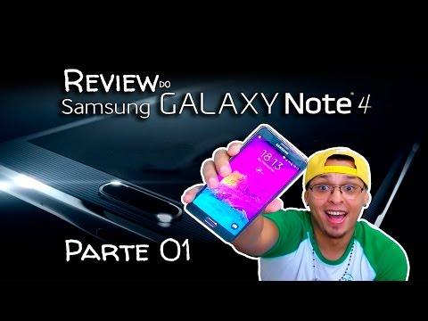 Review do Samsung Galaxy Note 4 (Português)  PARTE 1