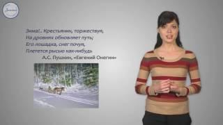 Русский язык 4 класс. Роль имен существительных в предложении и в речи